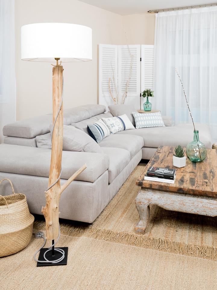 ambiance et nature lampe bois flotte 0296 ambiance nature. Black Bedroom Furniture Sets. Home Design Ideas